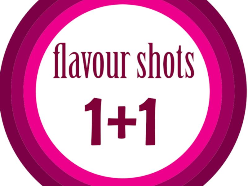 Γνωρίστε τα Flavour Shots 1+1
